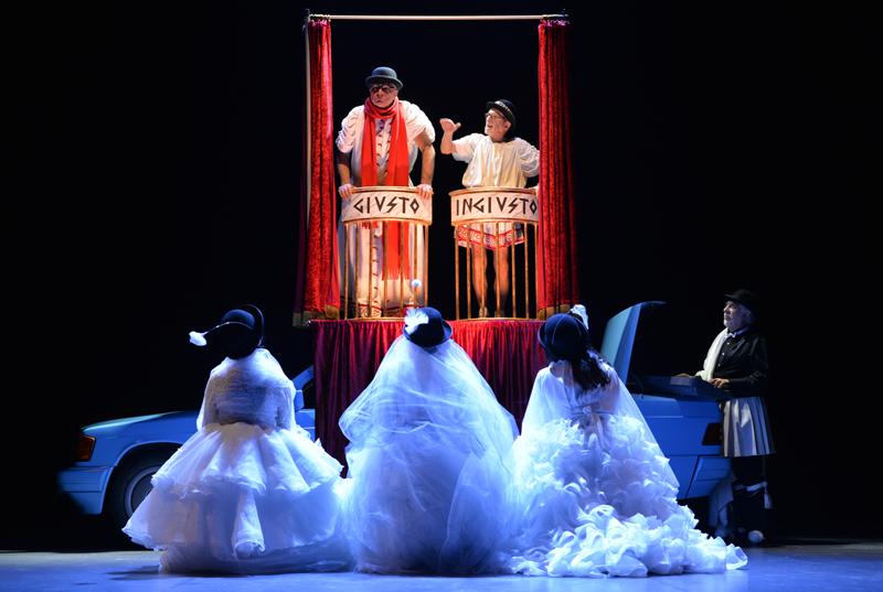 Aristofane reloaded: le Nuvole di Teatro Due