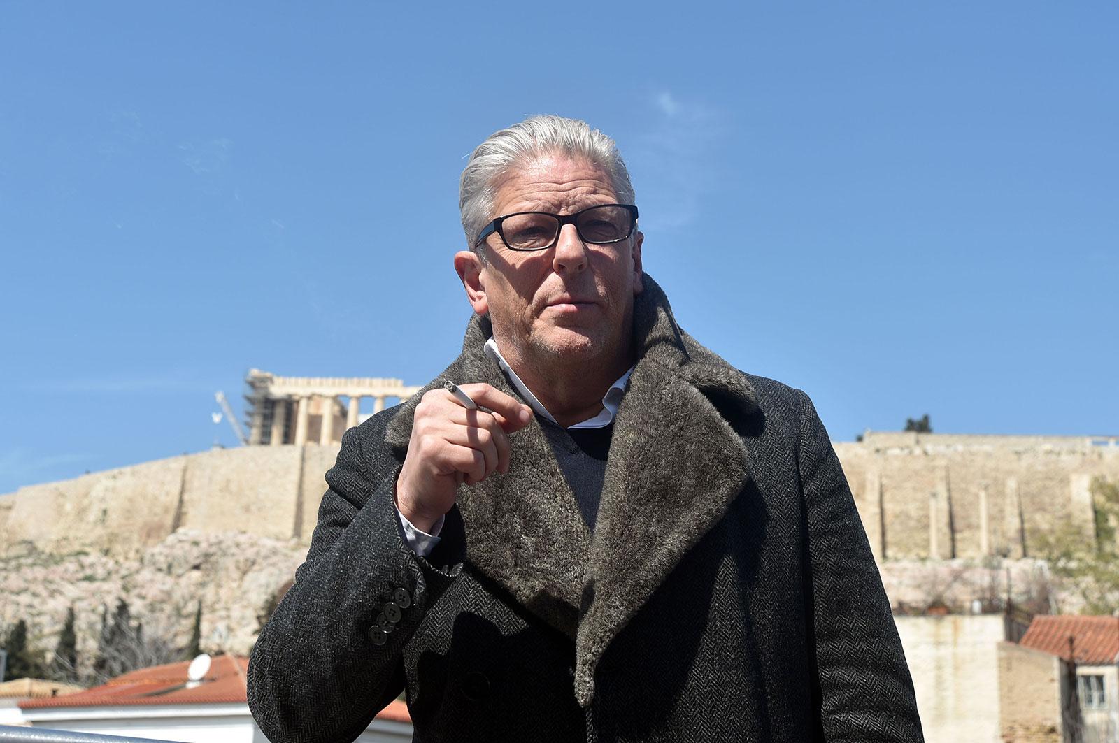 Atene contro Jan Fabre
