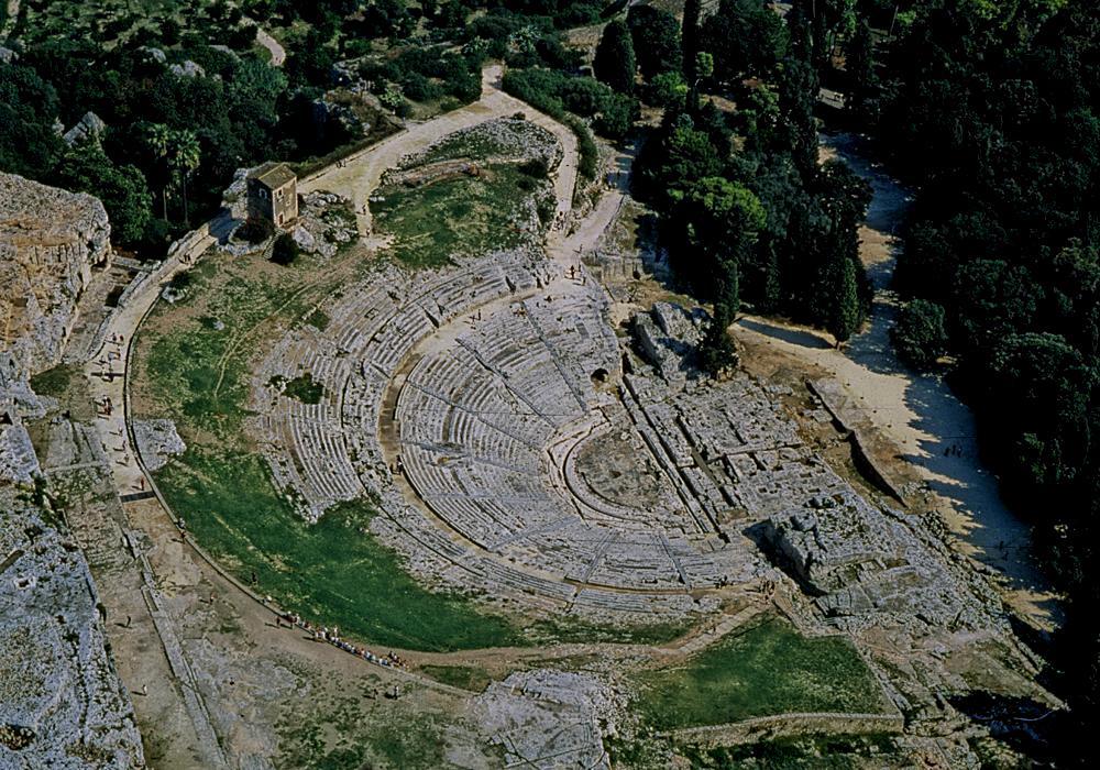 Il teatro 'antico' di Siracusa. Nota storica e archeologica a margine delle rappresentazioni del'INDA