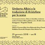Umberto Albini e la traduzione di Aristofane per la scena