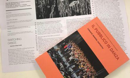 Il pubblico in danza — Stefano Tomassini incontra gli autori